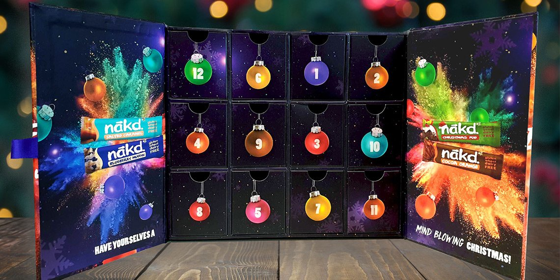 Nakd Foods Luxury Advent Calendar